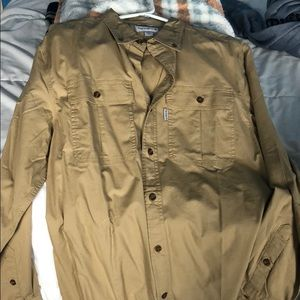 Carhartt Relaxed fit button down, Men's M